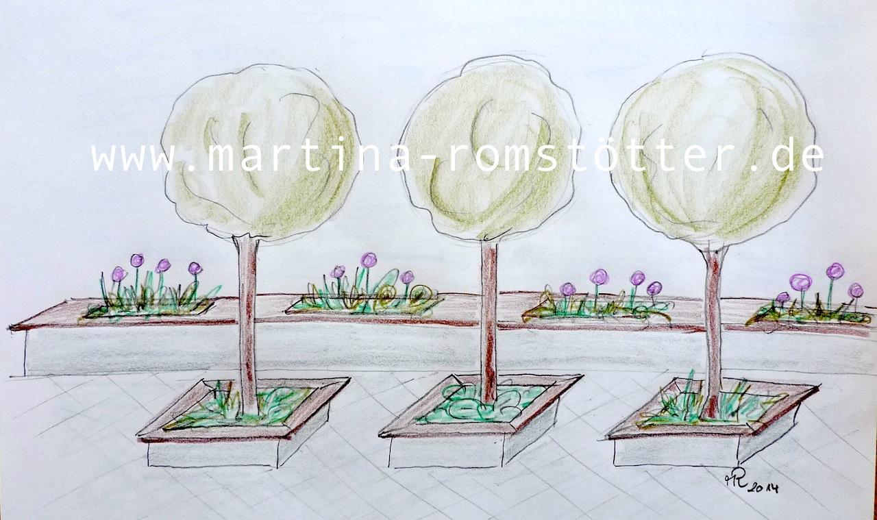 Sichtschutz Im Garten Martina Romstotter